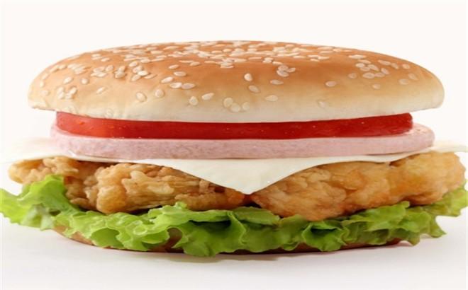 志胜炸鸡汉堡